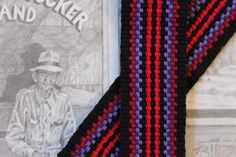 Guitar Strap Woven by Hand in the USA by WeaverGuitarStraps #guitarstrap #guitar_straps #handmade #handwoven