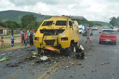 NONATO NOTÍCIAS: Bandidos explodem carro-forte no município de Jaco...
