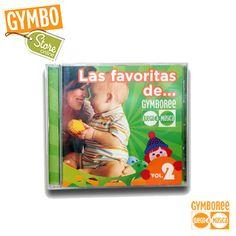 CD LAS FAVORITAS DE GYMBOREE VOL.2 $99.00 MXN https://www.kichink.com/buy/156701  Favorece el baile y el movimiento corporal