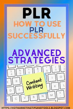 How to use PLR successfully-advanced strategies How To Start A Blog, How To Make Money, Blogging For Beginners, Blogging Ideas, Seo Strategy, Social Media Content, Blog Tips, Being Used, Things That Bounce