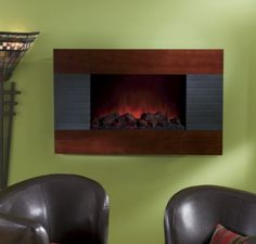 Contemporary Wall Fireplace from Seventh Avenue ®
