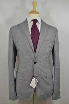 Love Moschino Unstructured Cotton Sport Coat Blue 38 40 NWT