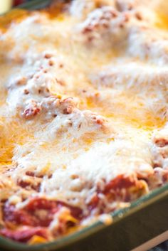 This easy classic lasagna recipe is million-dollar-good! Layers of marinara, Alfredo sauce, sausage, ricotta cheese, herbs and fresh mozzarella! No boil makes it great for busy nights. Best Easy Lasagna Recipe, Easy Lasagna Recipe With Ricotta, Classic Lasagna Recipe, Lasagna Recipes, Quick Meals, No Cook Meals, Ground Beef Pasta, Sausage Lasagna, Great Recipes