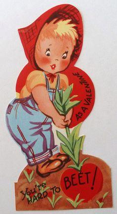 Vintage Valentine Card By MissConduct Via Flickr Valentines FoodValentines