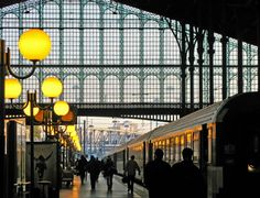 Paris ~ Gare du Nord le matin ~ if only all train stations looked like thisif only all train stations looked like this Paris France, Trains, Long Week-end, Day Trips From London, Bonde, Tour Eiffel, London Travel, Travel And Leisure, Train Travel
