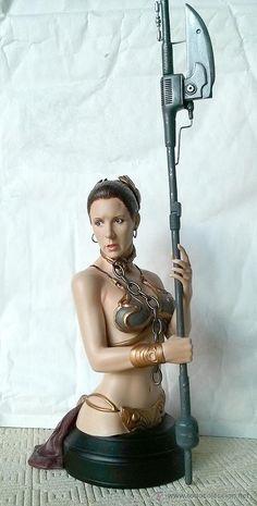 Princesa Leia Organa - Star wars - Figura - Gentle Giant Studios - Lucasfilm Figuras Star Wars, Princesa Leia, Gentle Giant, Studios, Wonder Woman, Superhero, Stars, Fictional Characters, Women