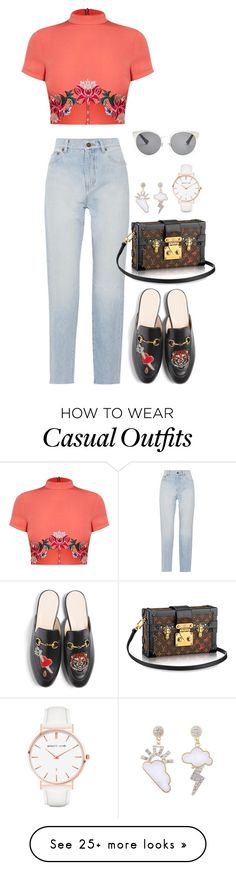 """""""Casual 22"""" by acacia97 on Polyvore featuring Yves Saint Laurent, Gucci, Abbott Lyon and Christian Dior"""
