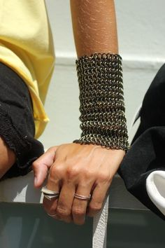 Wrist armor.