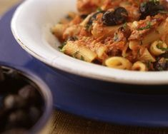 Get Tomato Cream Sauce with Tuna Recipe from Cooking Channel