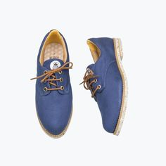 Petit Blu Oxford - Insecta Shoes