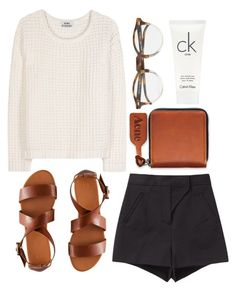 """Sort of"" by clourr ❤ liked on Polyvore featuring Acne Studios, H&M, Oliver Peoples, Proenza Schouler and Calvin Klein"