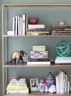 7 Secrets to a Perfectly Styled Bookcase by @nicolegibbons1
