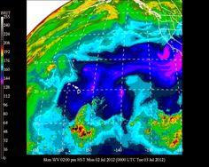 #HNL #Hawaii #Meteorology: #Weather #Temp 86F #RH 45% #Winds NE 17 mph G25 mph
