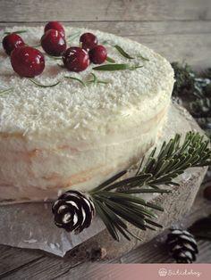 Gluténmentes fehércsokis-kókuszos torta | Sütidoboz.hu Oreo, Camembert Cheese, Panna Cotta, Food Porn, Food And Drink, Gluten Free, Cookies, Healthy, Ethnic Recipes