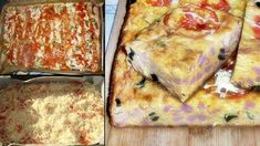Așa se face Pizza fără blat - Ori de câte ori o fac, nu rămâne nimic în tavă Tapas, Lasagna, Quiche, Pasta, French Toast, Ketchup, Bacon, Yummy Food, Cheese