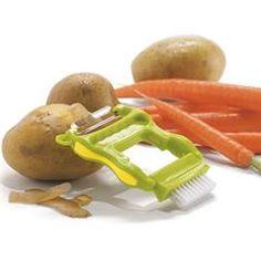Vegetable Peeler and Brush
