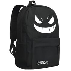 313a3963985 Cute Smiling Face Pikachu backpack New School Bags, School Bags For Boys,  Pokemon Backpack