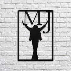 MJ #metal #wallart #decoration #decor #homedecor #home #idea #gift #shopping #metalart #wallhanging #walldecor #interior #steel #decorations #interiors #pinterest #raayt #sign #wallsign #diy #homedecorationidea #ideas #product #feather #feathers #geometric #geometry #minimal #minimalist #office #michael #jackson #mj #thriller