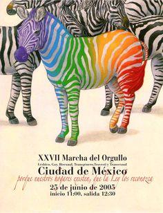 Cartel XXXVII Marcha del Orgullo on Behance