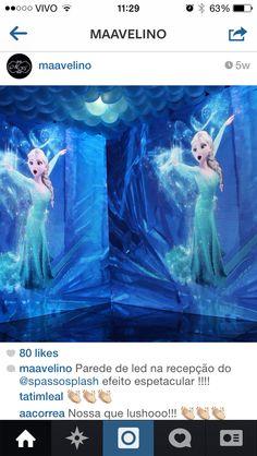 Inspiração festa Frozen