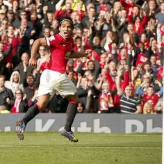 Radamel Falcao García tiene un gol con Manchester United. Lo hizo al Everton