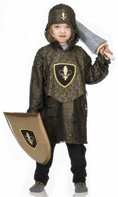 The adventure continues after Halloween with this Golden Knight Costume created by Fairy Finery.