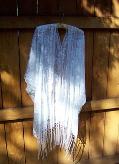White Lace Boho Kimono, Fringe, Plus Size S,M,L, White Sequins, Embroidery, Beach Cover Up, Bridal, Party, Plus, Boho  Flapper Style Kimono. Available in White or Black  Too Divine. Just like the white winged dove, Stevie Nicks  Ultra Elegance for: Gatsby Party, Lingerie, Beach Coverup, Bridal. You decide the time and the place.  There is no fit to this white sequin floral embroidered kimono. It flows with your movements. Elegant and ethereal for a magical evening. Design and construction by…
