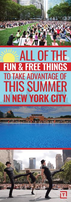 All the Free Things You Need to Take Advantage of in NYC This Summer