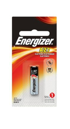 Energizer Miniature Alkaline Electronic Battery, Size A27 (Pack of 6)