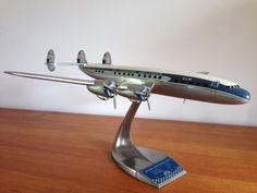 Raise-up Constellation 1/80 scale, near mint unrestored condition