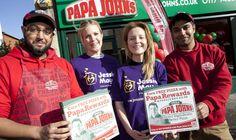 Franchise UK Opportunities - Papa Johns UK Pizza Hitesh Patel Harry Singh Open Third Bristol Store