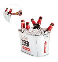 Enfriador de Cerveza Eros perfecto para estos días de calor. Es importante no deshidratarse ;D. Disponible On-line a mediados de Julio.
