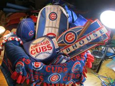 """Cubs Fan"" raffle basket available at our fundraiser May 18th. Go to our"