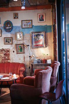interior of de superette, ghent, belgium | foodie travel + restaurants