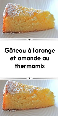Orange and almond thermomix cake - orange and almond cake with thermomix A delicious soft cake for your snack. Here is the thermomix r - Sponge Cake Recipes, Pound Cake Recipes, Easy Cake Recipes, Healthy Dessert Recipes, Apple Recipes, Quick Dessert, Easy Summer Desserts, Desserts For A Crowd, Lemon Desserts