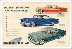 Olds Shows its Colors (1955) | by sjb4photos