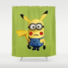 Despicable Minions, Shower Curtains. Minonachu