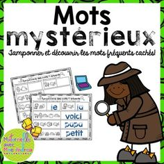 French Sight Words / Beginning Sounds Solve & Stamp Worksheets Sight Word Practice, Sight Words, Page Protectors, Sight Word Activities, Beginning Sounds, Literacy Centers, Teacher Pay Teachers, Vocabulary, Worksheets