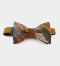 Frontier Stripe Bow Tie by Fox & Brie
