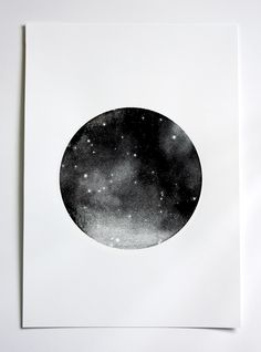 BLACK PLANET screen print by Hey Jo! Design
