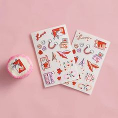Stickies™ Valentine Edible Stickers: Ps I Love You Edible Cupcake Toppers, Cupcake Cookies, Cookie Cakes, Ps I Love You, Valentines Day Party, Stickers, Food Coloring, Nut Free