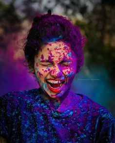 #colorfull #colorportrait #holi #holi2018 #colorsplash #vintage #girl #girlportrait #kerala #keralagirls #keralamodels