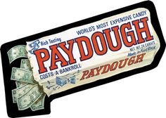 Paydough: Topps Wacky Packages Wall Graphics from WALLS 360. http://www.walls360.com/wackypackages