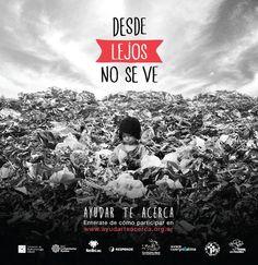 Te sumas a la campaña #DesdeLejosNoSeVe de @TrenALMA @RespondeONG @Nutrired @redcomunidades. Ayudar te acerca!!!