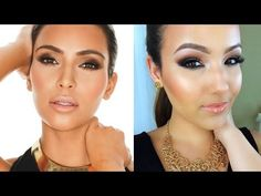 Kim Kardashian Smokey Eye Tutorial #makeupinspiration