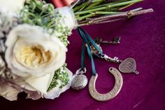 Personalized Bouquet  Charms to add more sentiment to your special day
