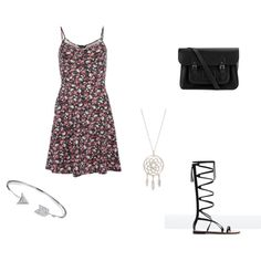 summer dream by magicandpeanut on Polyvore featuring Dorothy Perkins, Zara, The Cambridge Satchel Company and Bling Jewelry