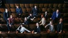 Albert Schultz Soulpepper Theatre's artistic director, top right in blue jacket…