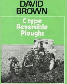 @davidbrownpics DB ploughs #davidbrown #davidbrowntractors