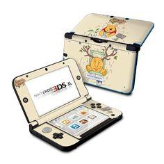 Nintendo XL Skin - Honeysuckle by Nicole Tamarin Nintendo Ds, Nintendo Consoles, Ds Xl, Geek Tech, Ds Games, Geek Stuff, Funny Memes, Vibrant, Kitty